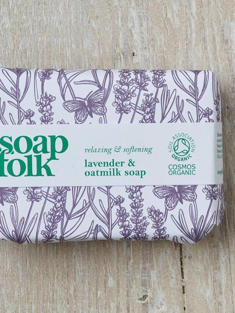 Soap Folk Soap Folk Lavender & Oatmilk Organic Soap