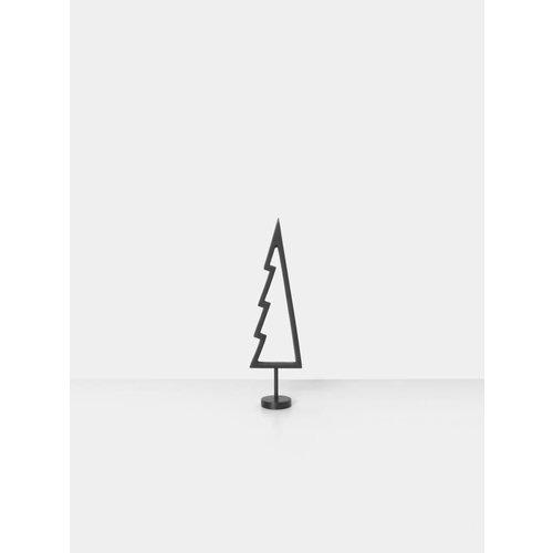 ferm LIVING Winterland Black Brass Tree - Outline