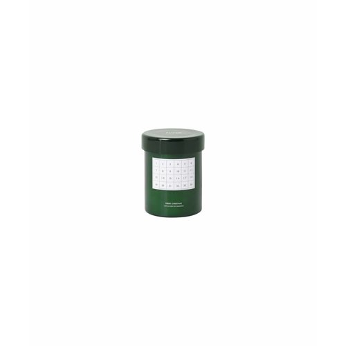 ferm LIVING Scented Candle - Calendar - Green