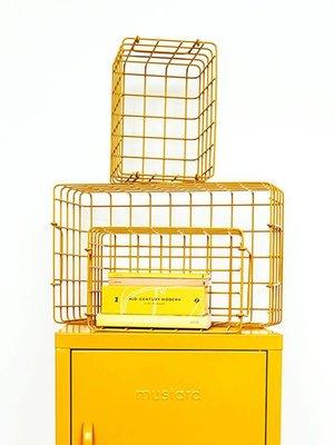 Mustard Mustard: The Baskets in Mustard