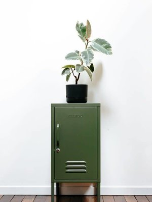 Mustard The Shorty Locker in Olive