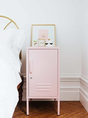 Mustard Mustard: The Shorty Locker in Blush