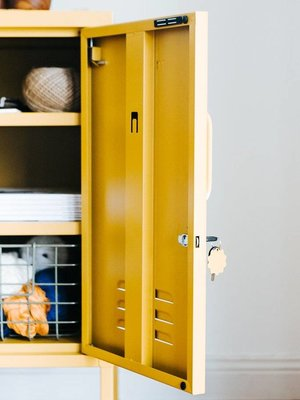 Mustard Mustard: The Shorty Locker in Mustard