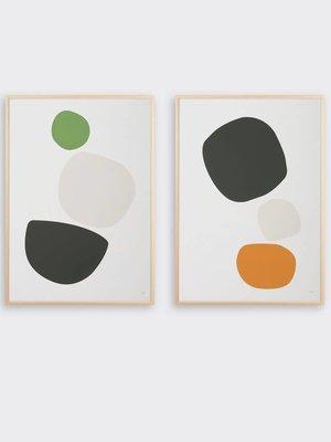Tom Pigeon Cobble Pair Prints - A2