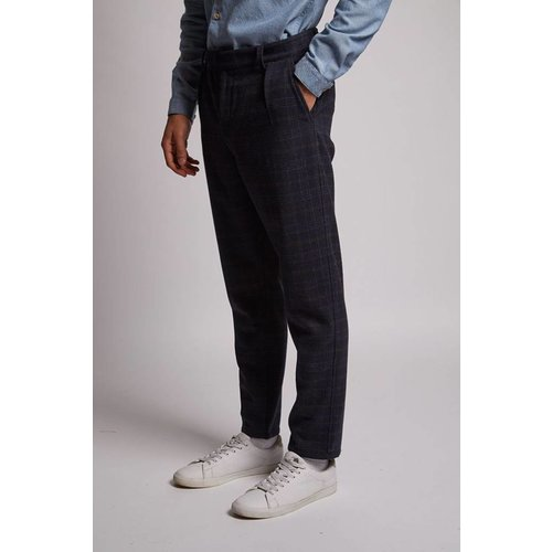 HYMN London 'HAWTHORN' Check Wool Trouser