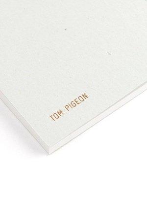 Tom Pigeon Tom Pigeon Coast - Copper Grey Notebook A5