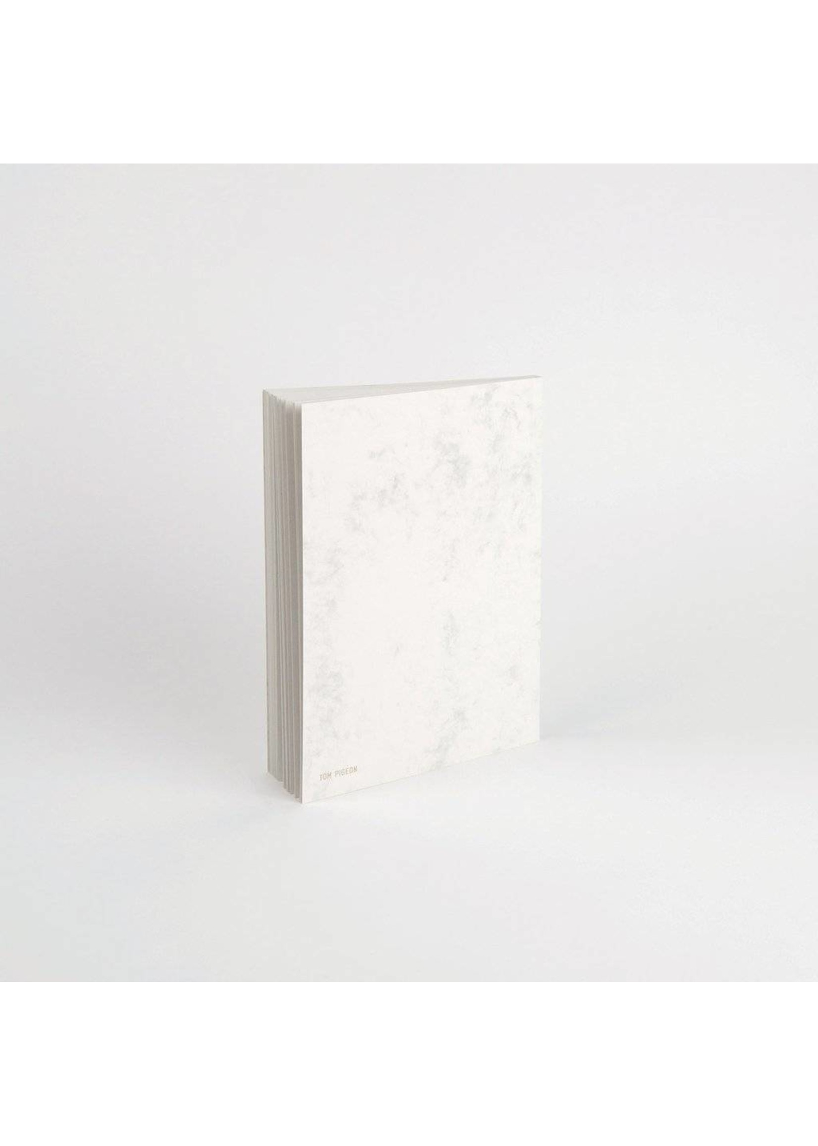 Tom Pigeon Tom Pigeon Totem - Silver Marble Notebook A5