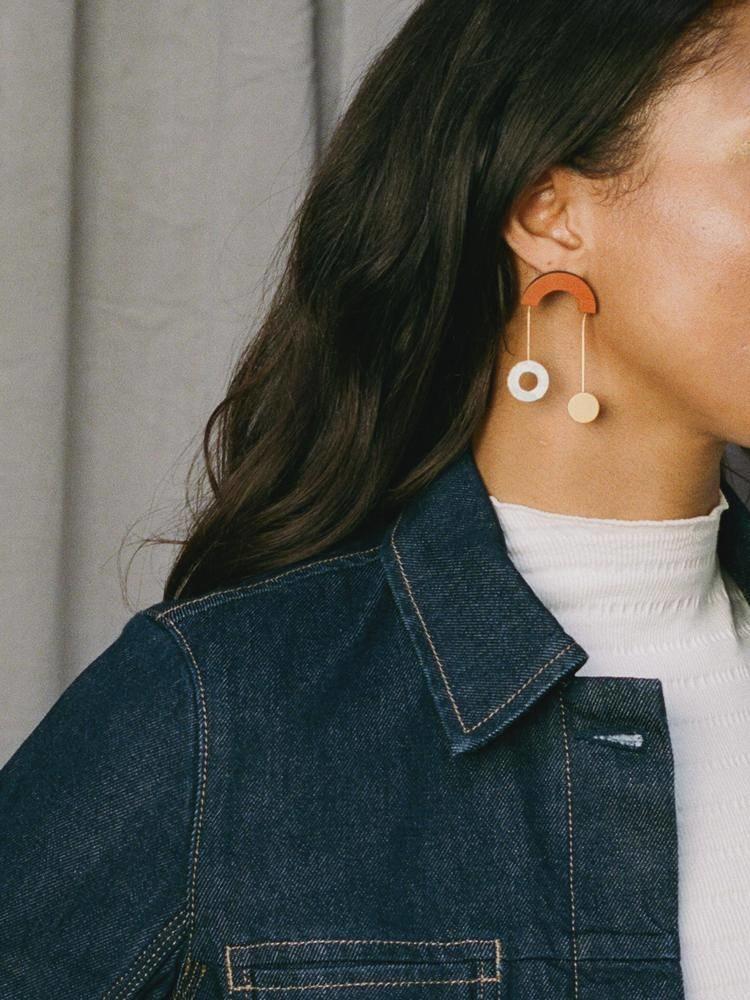 Wolf & Moon Wolf & Moon Cascade Earrings