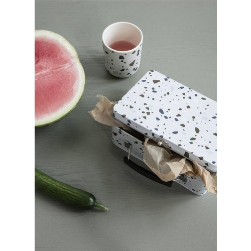 ferm LIVING Lunch Box - Terrazzo - Grey or Rose