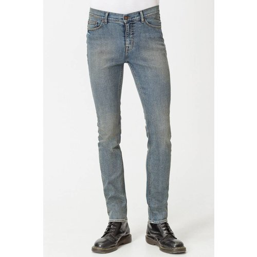 Cheap Monday Sonic Blur Blue Denim Jeans