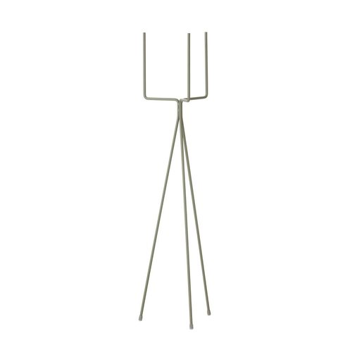 ferm LIVING Plant Stand - Large - Dusty Green