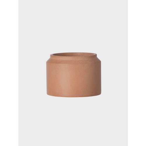ferm LIVING Concrete Plant Pot - Ochre - Small