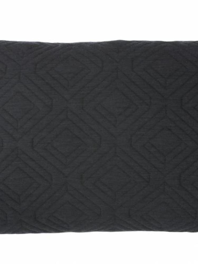 ferm LIVING ferm LIVING Quilt Cushion - Dark Grey 60x40