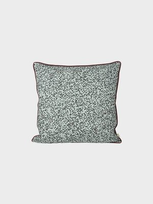 ferm LIVING Dottery Dusty Blue Cushion
