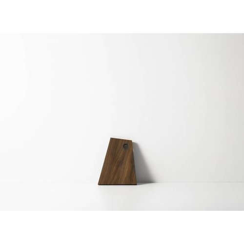 ferm LIVING Asymmetric Cutting Board - Smoked Oak -Small