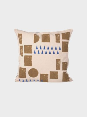 ferm LIVING Block Cushion - Rose