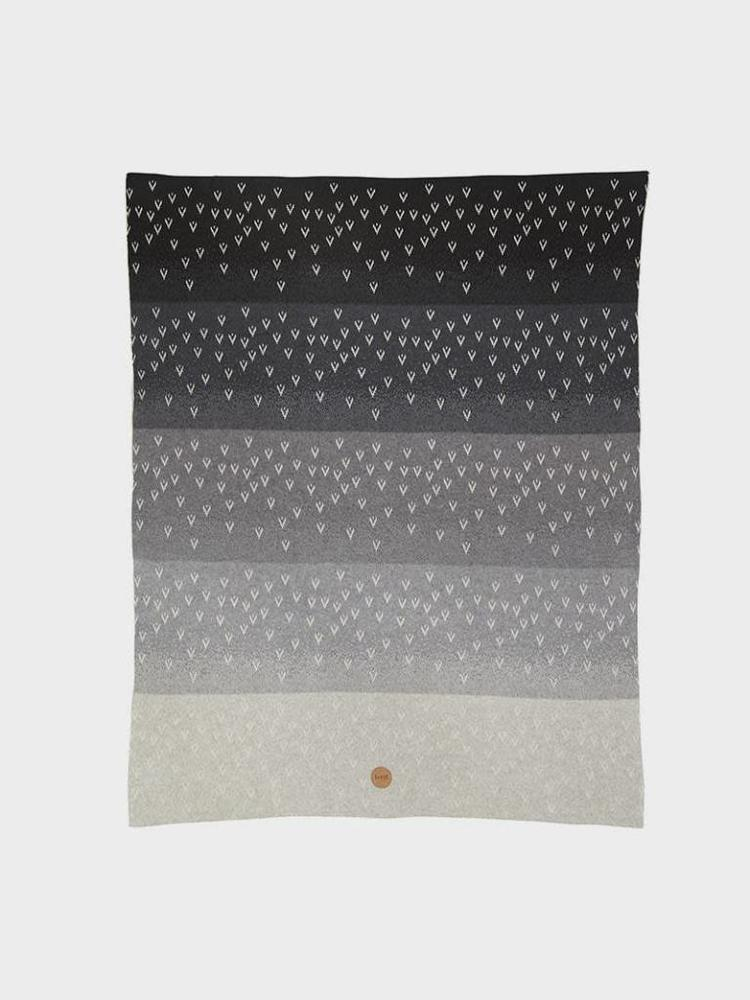 ferm LIVING ferm LIVING Gradi Blanket - Grey