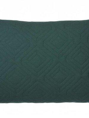 ferm LIVING ferm LIVING Quilt Cushion - Dark Green 60x40