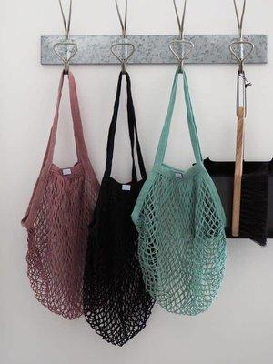 Rosie Drake Knight Rosie Drake-Knight The 'Vicky' Mesh Shopping Bag - Black