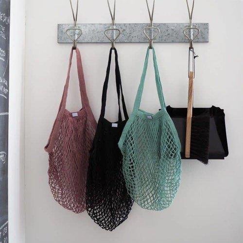 Rosie Drake Knight Mesh Shopping Bag - Black