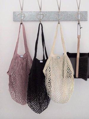 Rosie Drake Knight Mesh Shopping Bag - Natural
