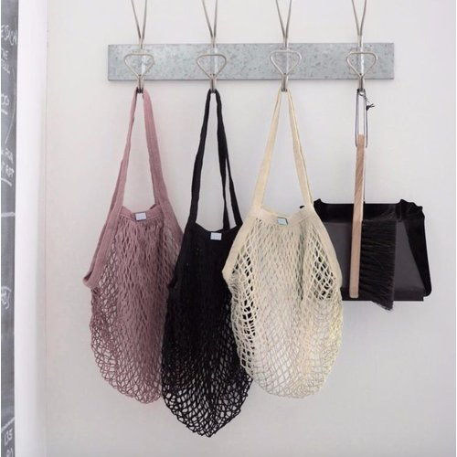 Roake Roake Mesh Shopping Bag - Natural
