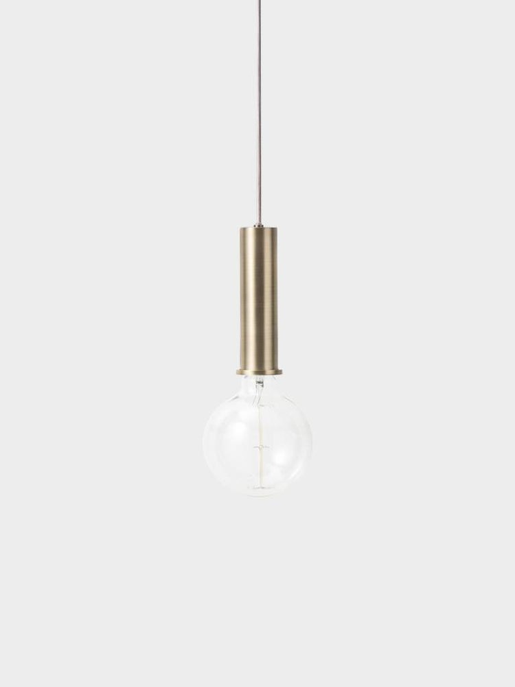 ferm LIVING ferm LIVING Lighting - Socket Pendant High - Brass