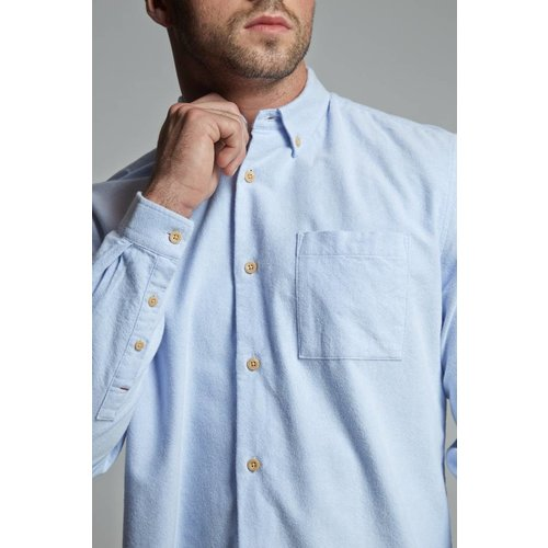 HYMN London 'SIMMONS' Brushed Cotton Shirt