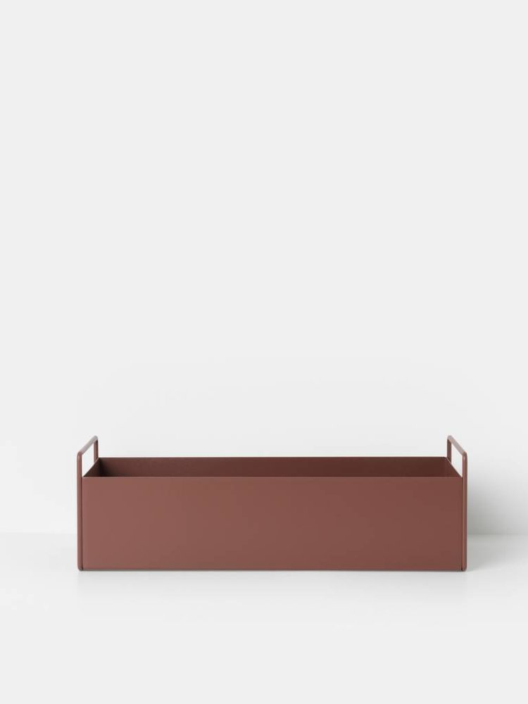 ferm LIVING ferm LIVING Plant Box - Red Brown - Small