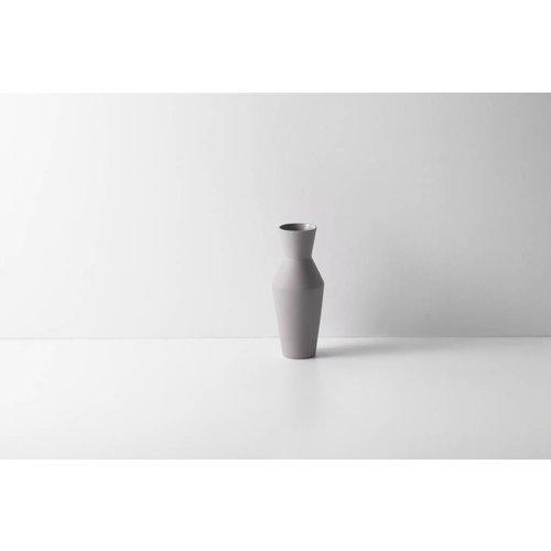 ferm LIVING Sculpt Vase - Corset - Grey
