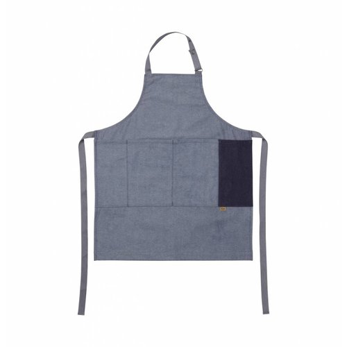 ferm LIVING Denim Apron - Blue