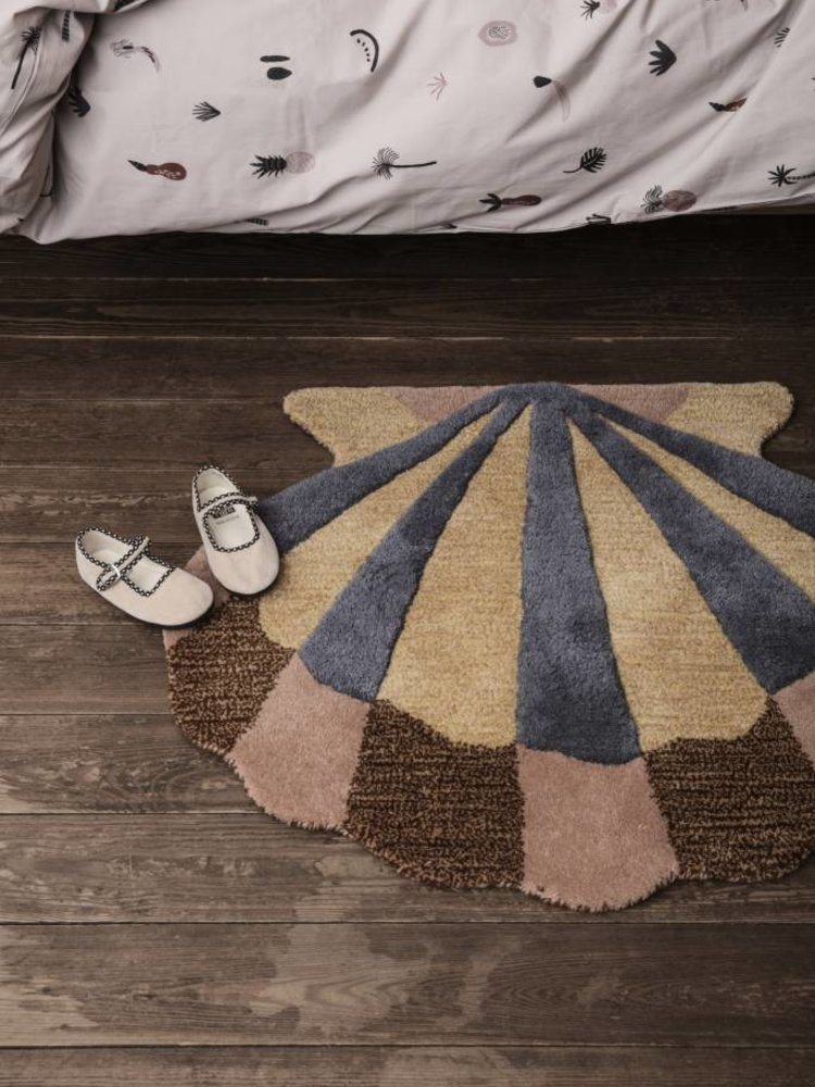 ferm LIVING ferm LIVING Shell Tufted Wall/Floor Deco - Multi
