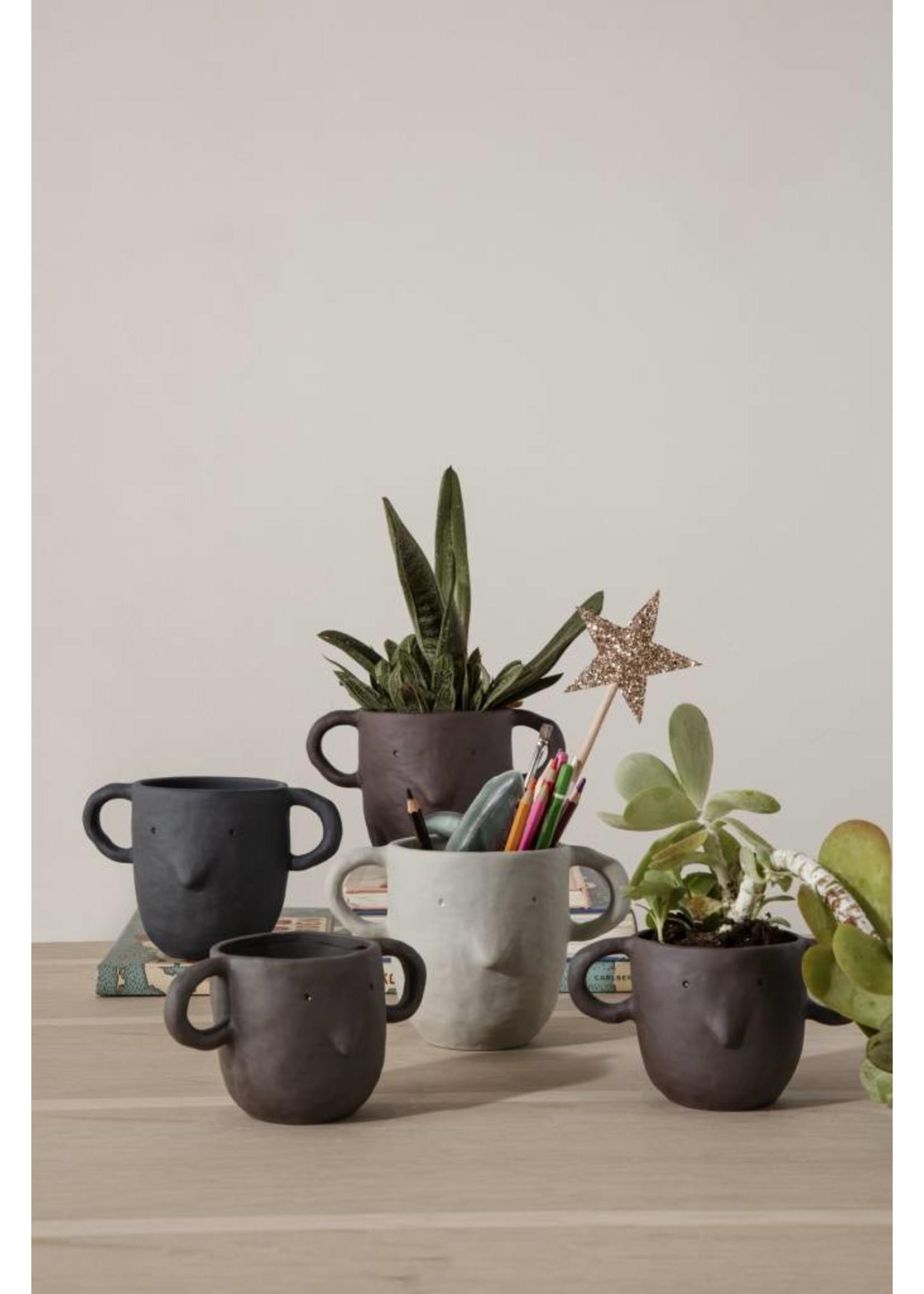 ferm LIVING ferm LIVING Mus Plant Pot - Sand - Small