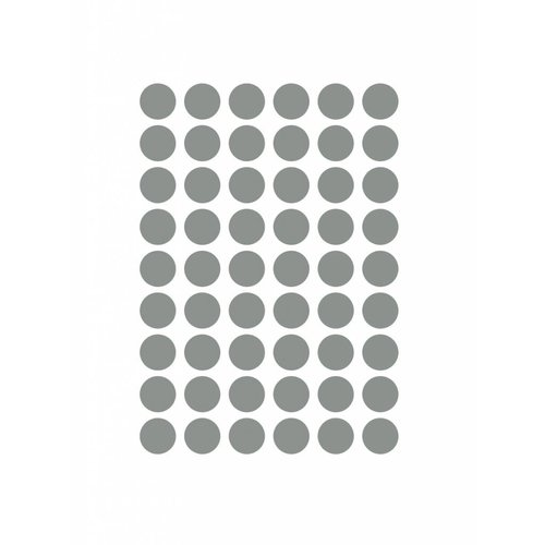 ferm LIVING Mini Dots Wallsticker - Grey