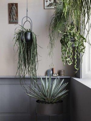 ferm LIVING ferm LIVING Hanging Deco Plant Pot - Black