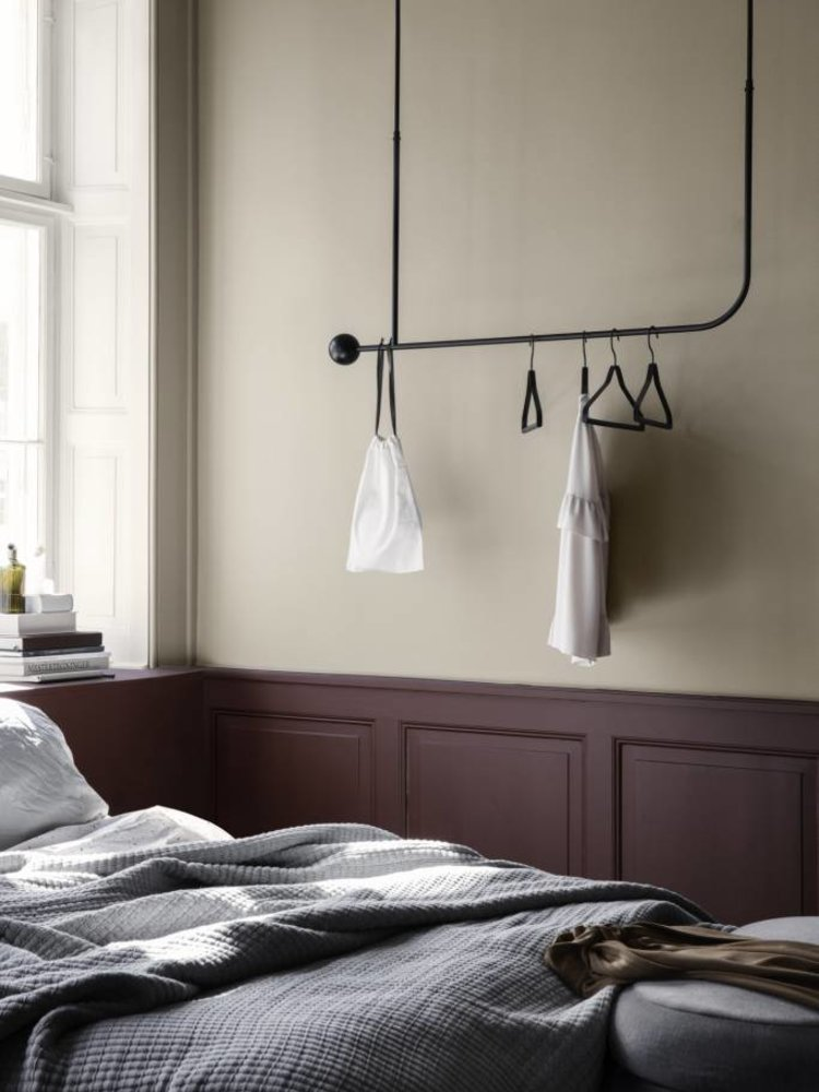 ferm LIVING ferm LIVING Pujo Hanging  Coat Rack - Black