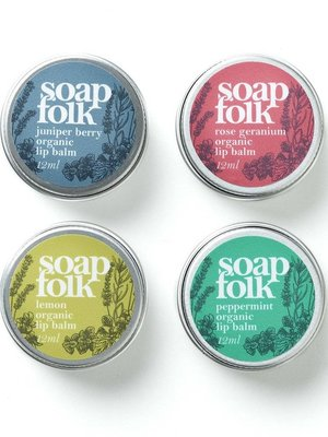 Soap Folk Soap Folk Juniper Berry Organic Lip Balm