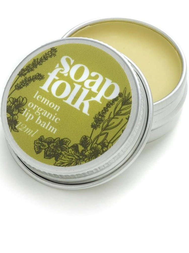Soap Folk Soap Folk Lemon Organic Lip Balm