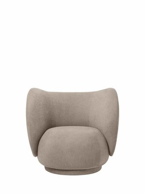 ferm LIVING ferm LIVING Rico Lounge Chair - Bouclé