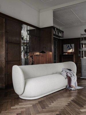 ferm LIVING Rico 4 Seater Sofa - Bouclé