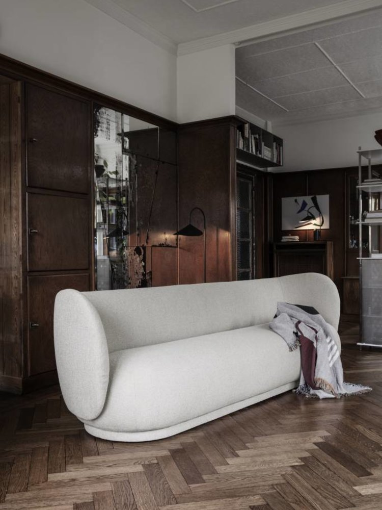ferm LIVING ferm LIVING Rico 4 Seater Sofa - Bouclé