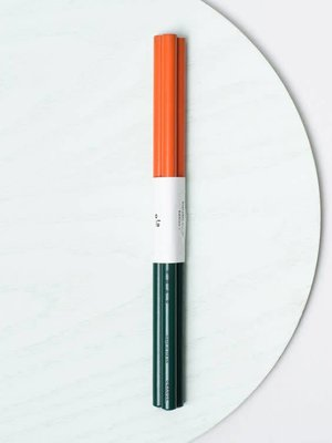 Ola Set of 3 Pencils: Everyday Objects Edition1: Orange