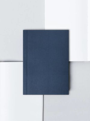 Ola Pocket Layflat Notebook: Everyday Objects Edition 1: Circle Navy/Plain