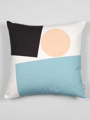 Tom Pigeon Cushion 002 - Light Blue