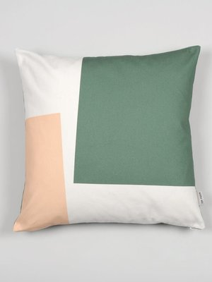 Tom Pigeon Cushion 003 - Green