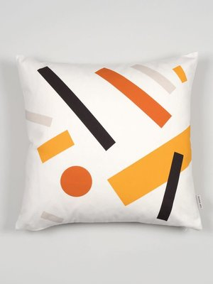 Tom Pigeon Cushion 005 - Light Grey