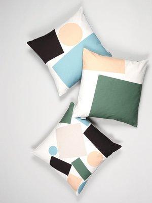 Tom Pigeon Tom Pigeon Cushion 003 - Green