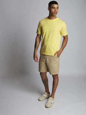 HYMN London 'FORECAST 2' Weather T-Shirt - Yellow