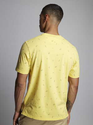 HYMN London HYMN 'FORECAST 2' Weather T-Shirt - Yellow