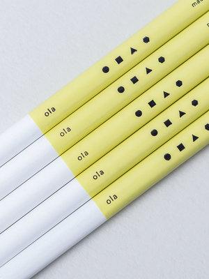 Ola Ola Single Pencil: Everyday Objects Edition1: 3H